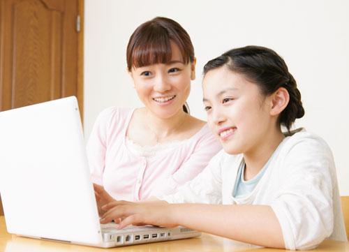 インターネットを使った最新の学習システム
