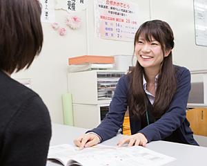 授業を受ける生徒
